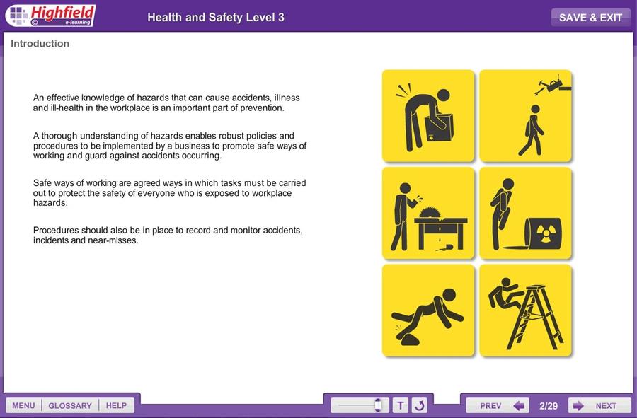 Uk Training - Level 3 Health & Safety Online | Level 3